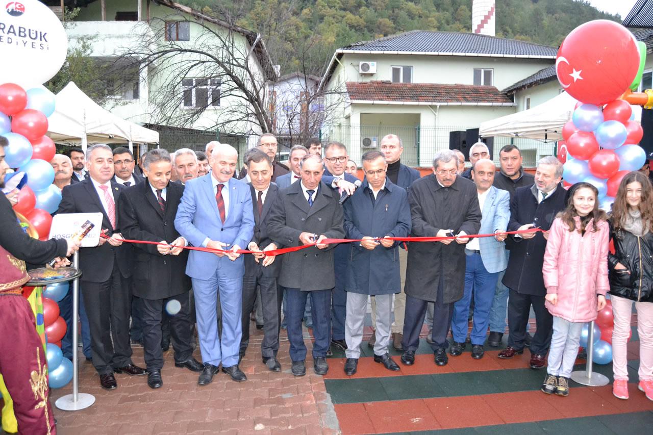 Fatih Mahallesi Parkının Açılışı Yapıldı
