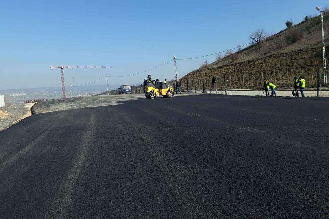 Karabük Belediyesi'nden Asfalt Çalışması