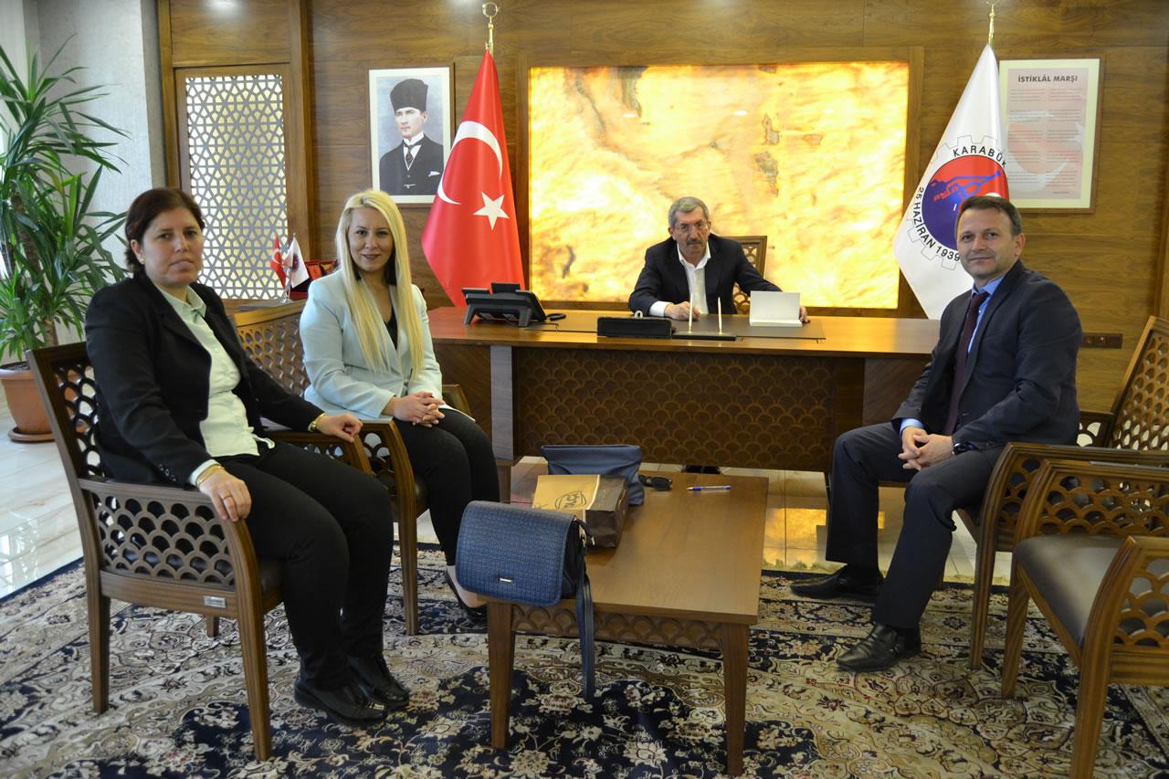 Türetken ve Kadıoğlu'ndan Başkan Vergili´ye Ziyaret
