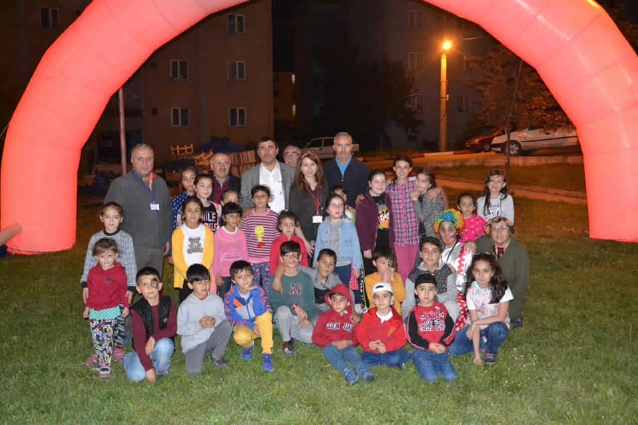 Çocuklar Ramazan Eğlencesi ile Coştu