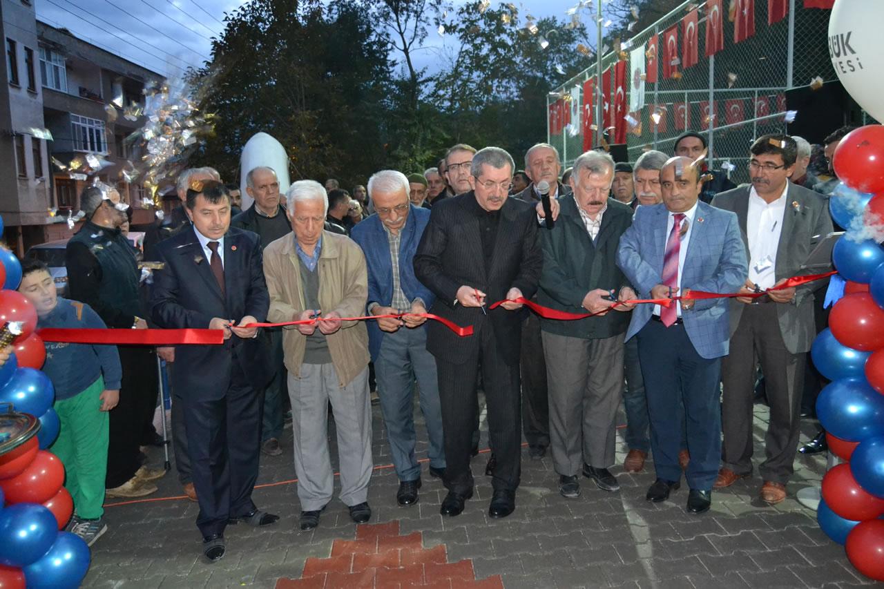 Kapullu Mahallesi Yeni Parkı'na Kavuştu