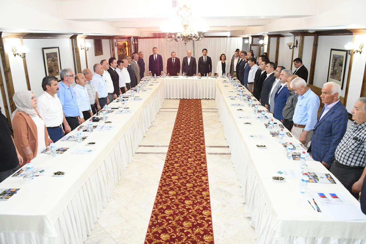 Başkan Vergili Batı Karadeniz Kalkınma Birliği (BAKAB) Olağan Genel Kurulu Toplantısına Katıldı
