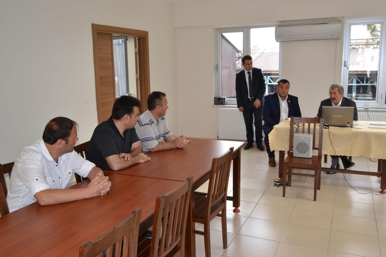 Gezici Başkanlık Ofisi Bayır Mahalle ile Devam Etti