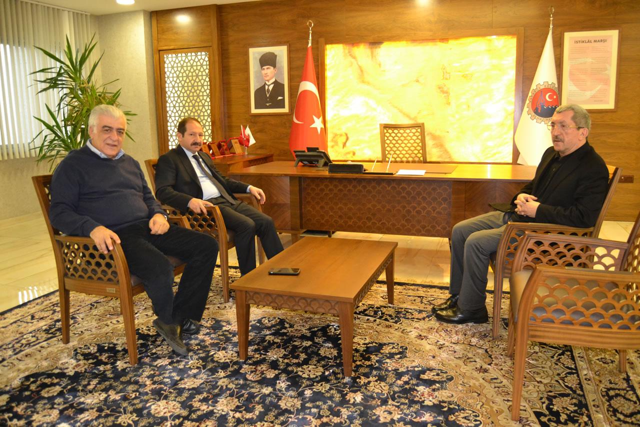 Kardemir Yönetim Kurulundan Başkan Vergili´ye Ziyaret