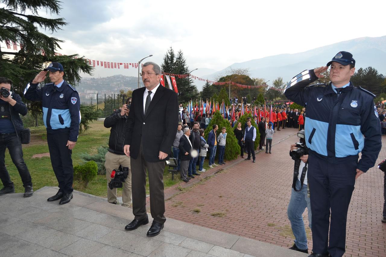 Başkan Vergili'den 29 Ekim Cumhuriyet Bayramı Kutlama Mesajı