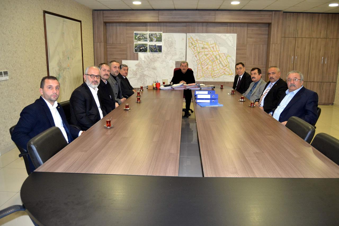 Milliyetçi Hareket Partisi Karabük İl Teşkilatından Başkan Vergili´ye Ziyaret