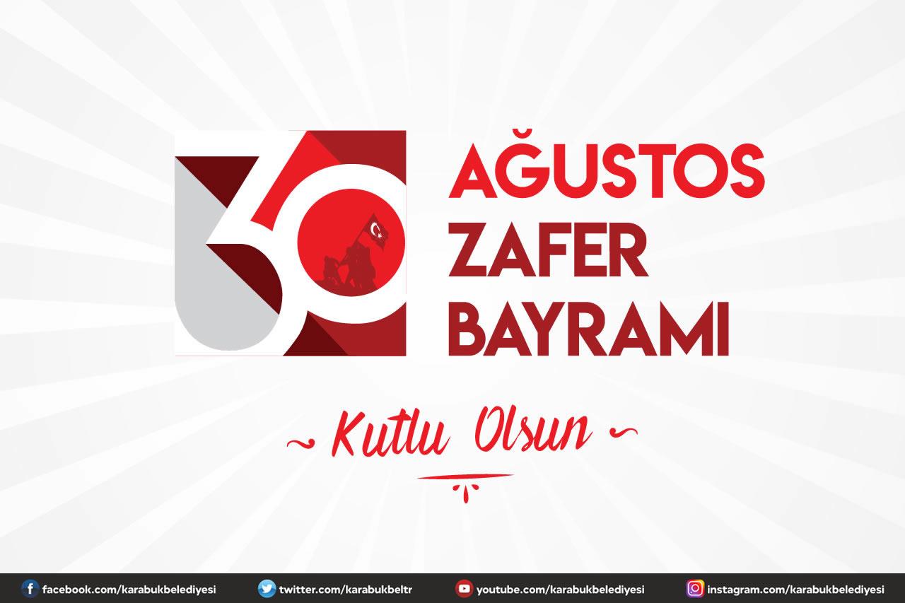 Başkan Vergili'den 30 Ağustos Zafer Bayramı Kutlama Mesajı