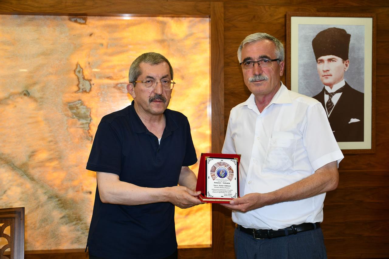 Eskipazar Belediye Başkanı Dönmez'den Başkan Vergili´ye Ziyaret