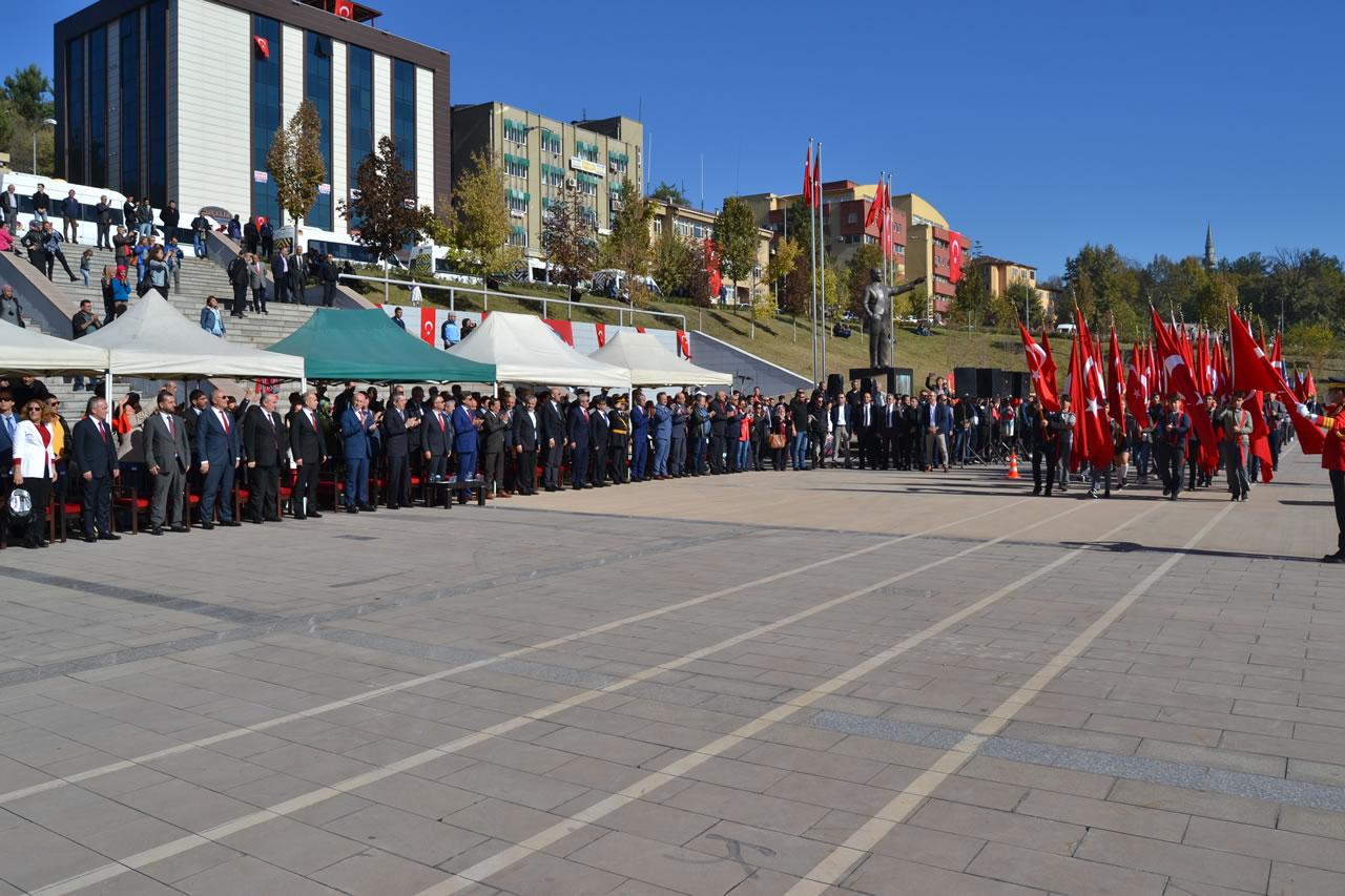 29 Ekim Cumhuriyet Bayramı Karabük´te Coşkuyla Kutlandı