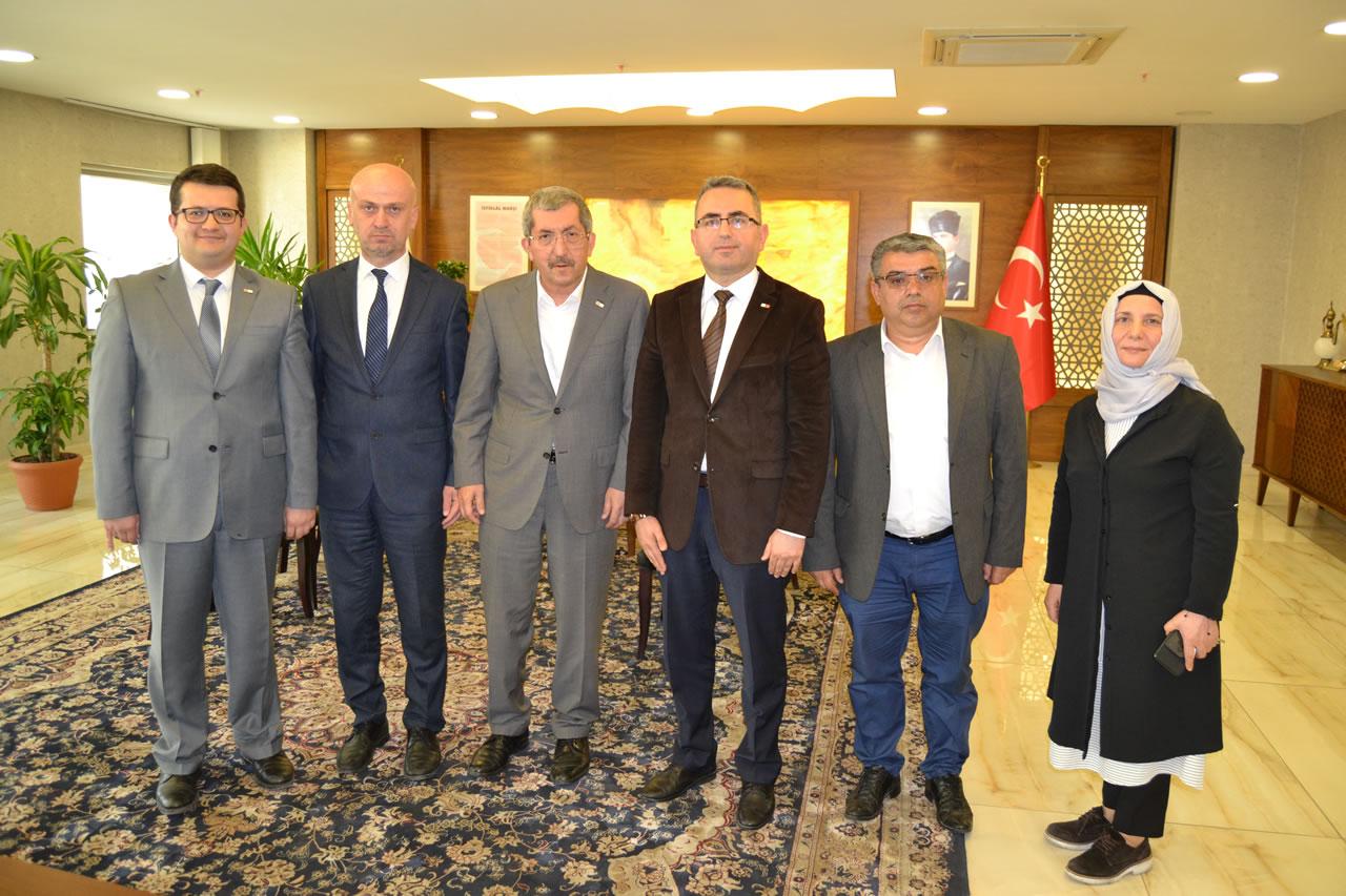 Türk Kızılayı Karabük Şubesinden Başkan Vergili'ye Hayırlı Olsun Ziyareti