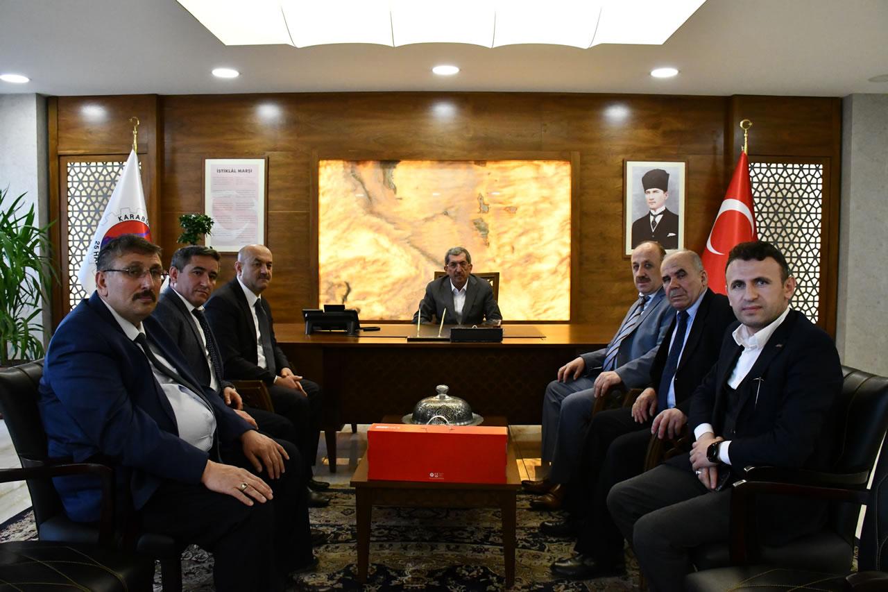 İstanbul Ovacıklılar Derneğinden Başkan Vergili'ye Hayırlı Olsun Ziyareti