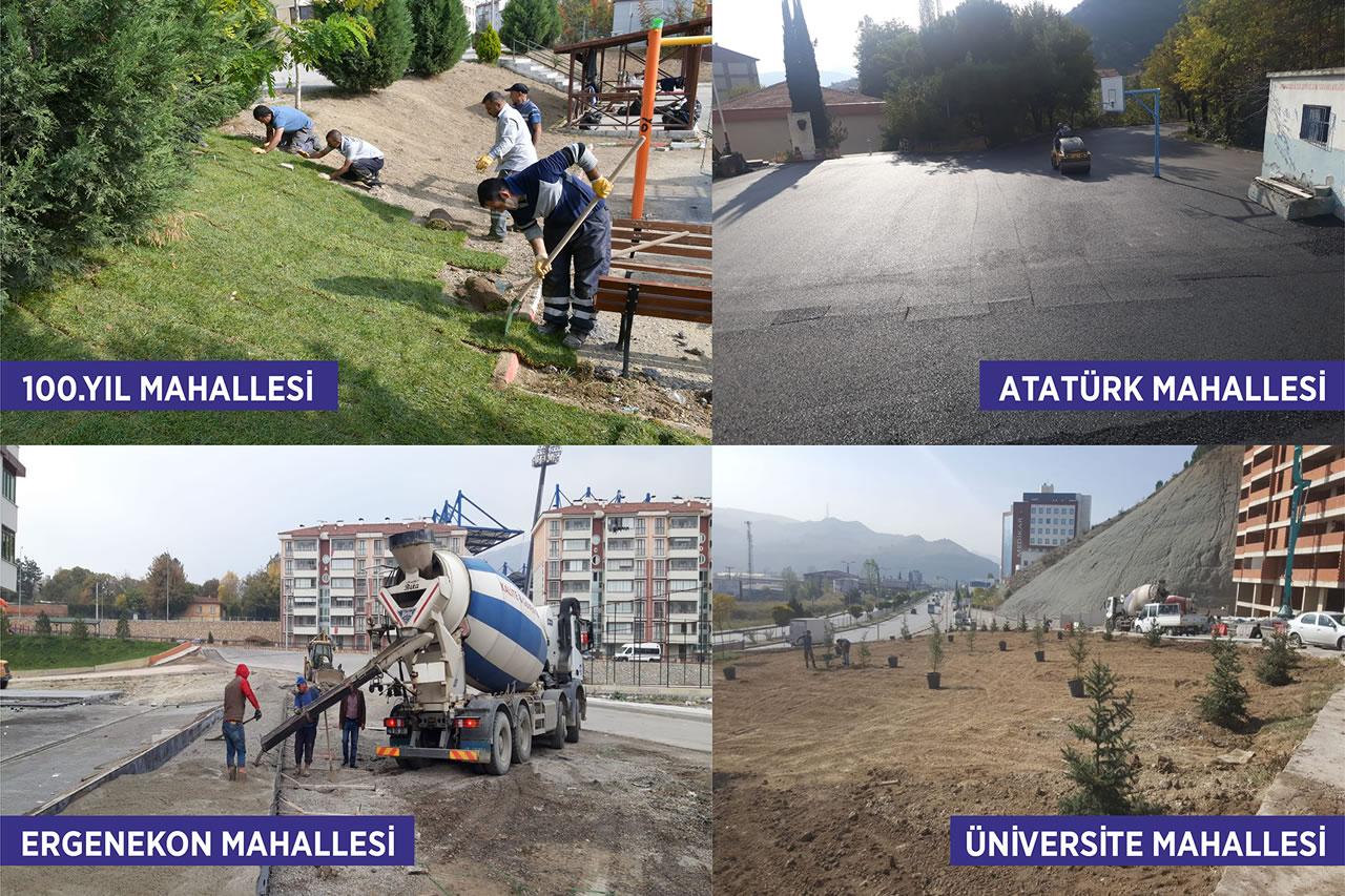 Karabük Belediyesi Karabük'ün Her Noktasında