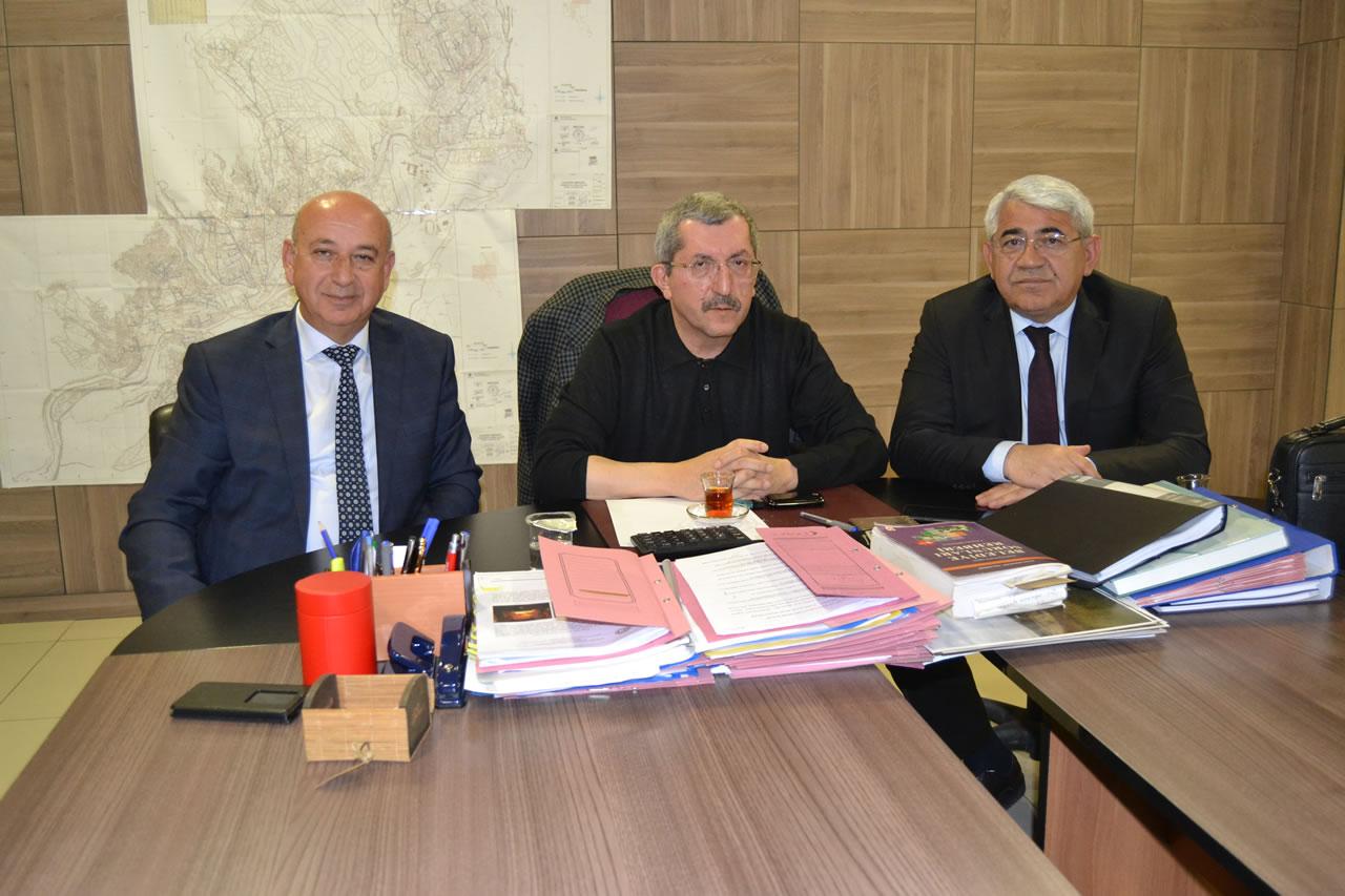 Kars ve Ilgaz Belediye Başkanlarından Başkan Vergili´ye Ziyaret