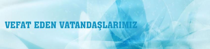 Karabük Belediyesi Vefat Edenler Sayfası