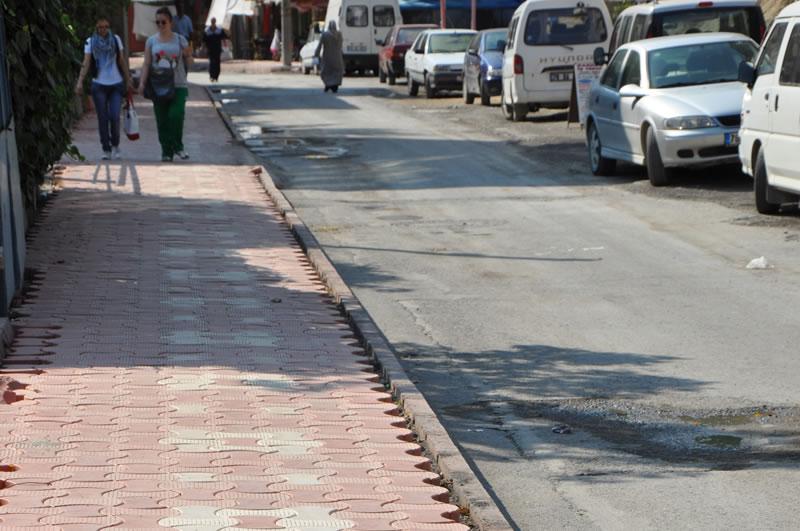 Bayır Mahalle Gökalp Caddesi Tretuvar Revizyonu
