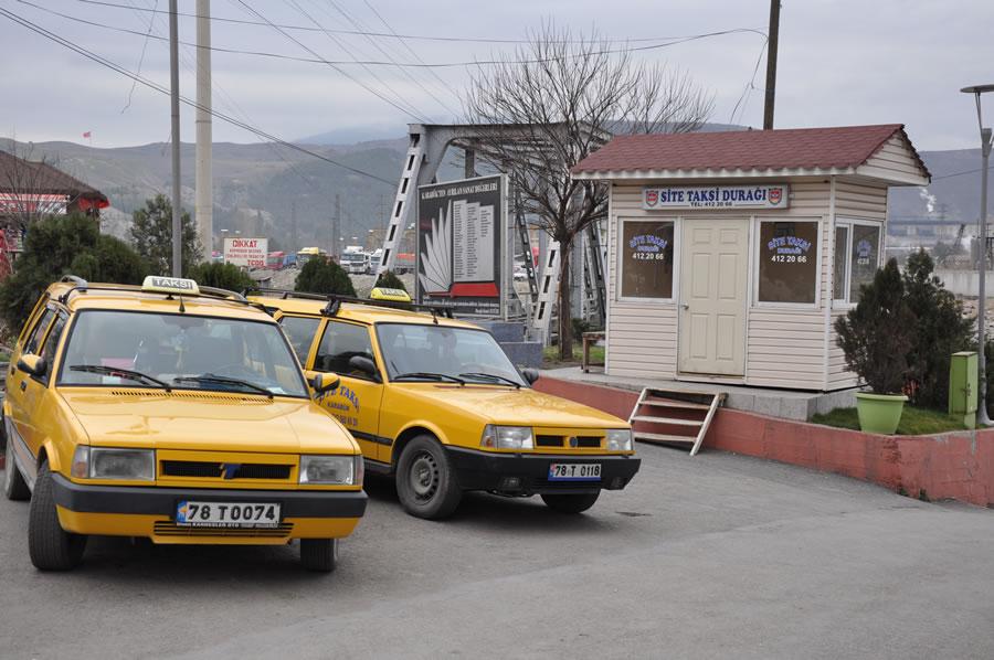 Site Taksi Durağı
