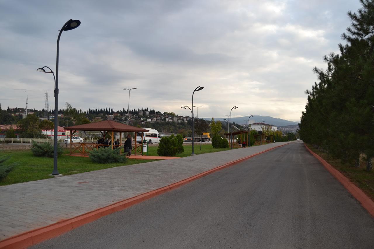 Yeşil Mahalle Atatürk Bulvarı Parkı