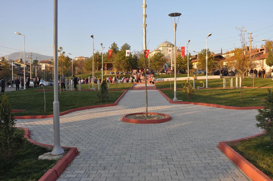 5000 Evler Bahçelievler Mahallesi Ulu Camii Parkı