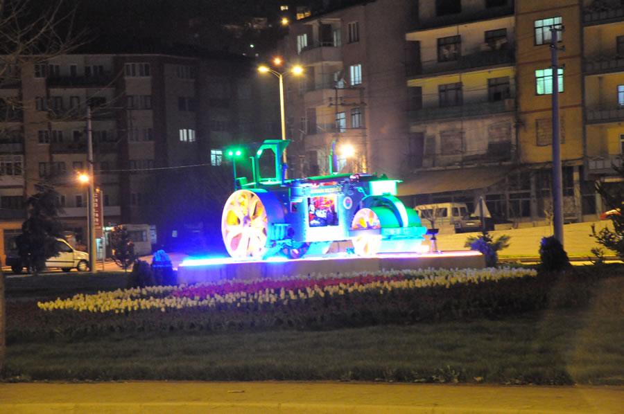 Karabük - Safranbolu Çevre Yolu Girişinin Aydınlatılması