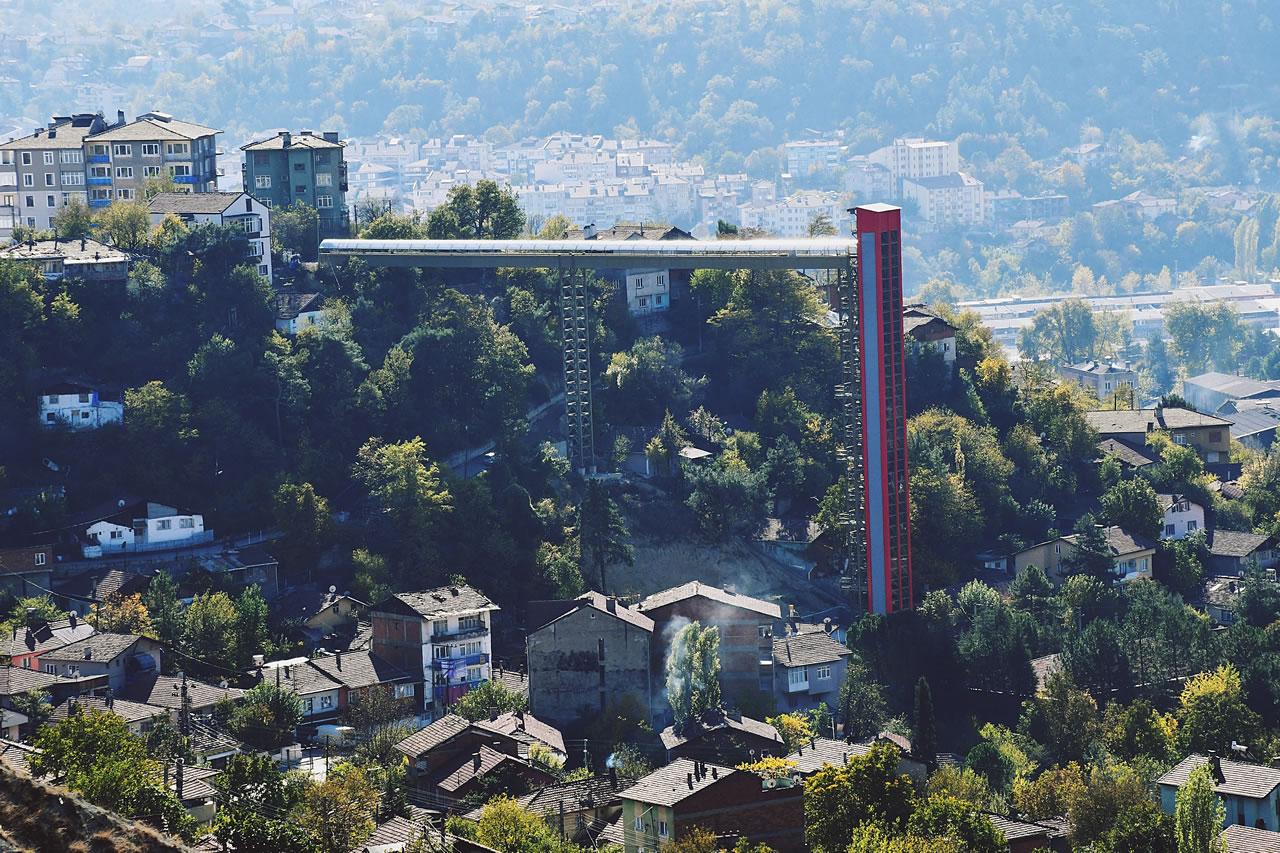Kule Asansör Projesi (Namık Kemal Mahallesi)