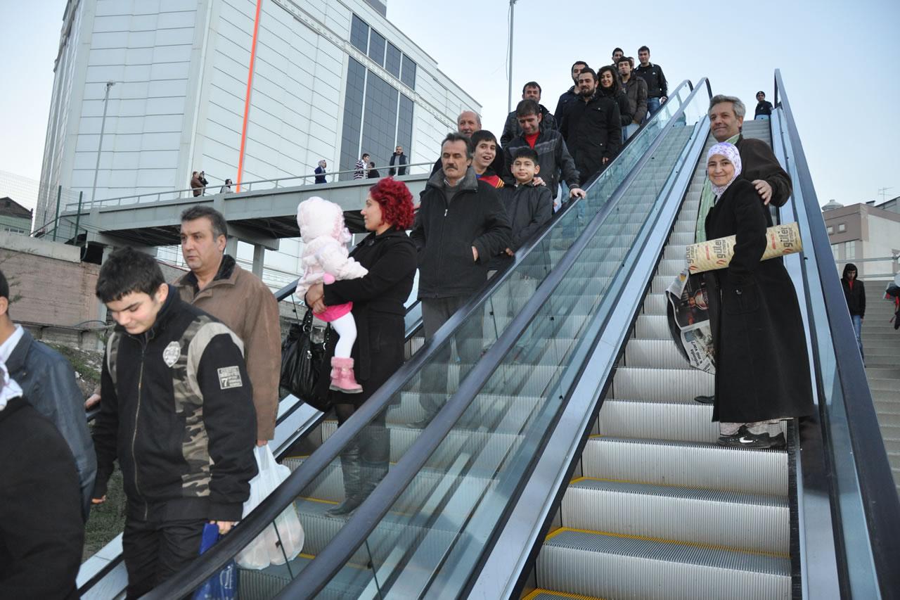 Yürüyen Merdivenler Projesi (Minibüs Terminali Mevkii)