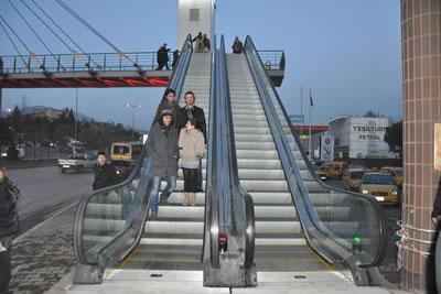 Yürüyen Merdivenler Projesi (Otobüs Terminali Mevkii)