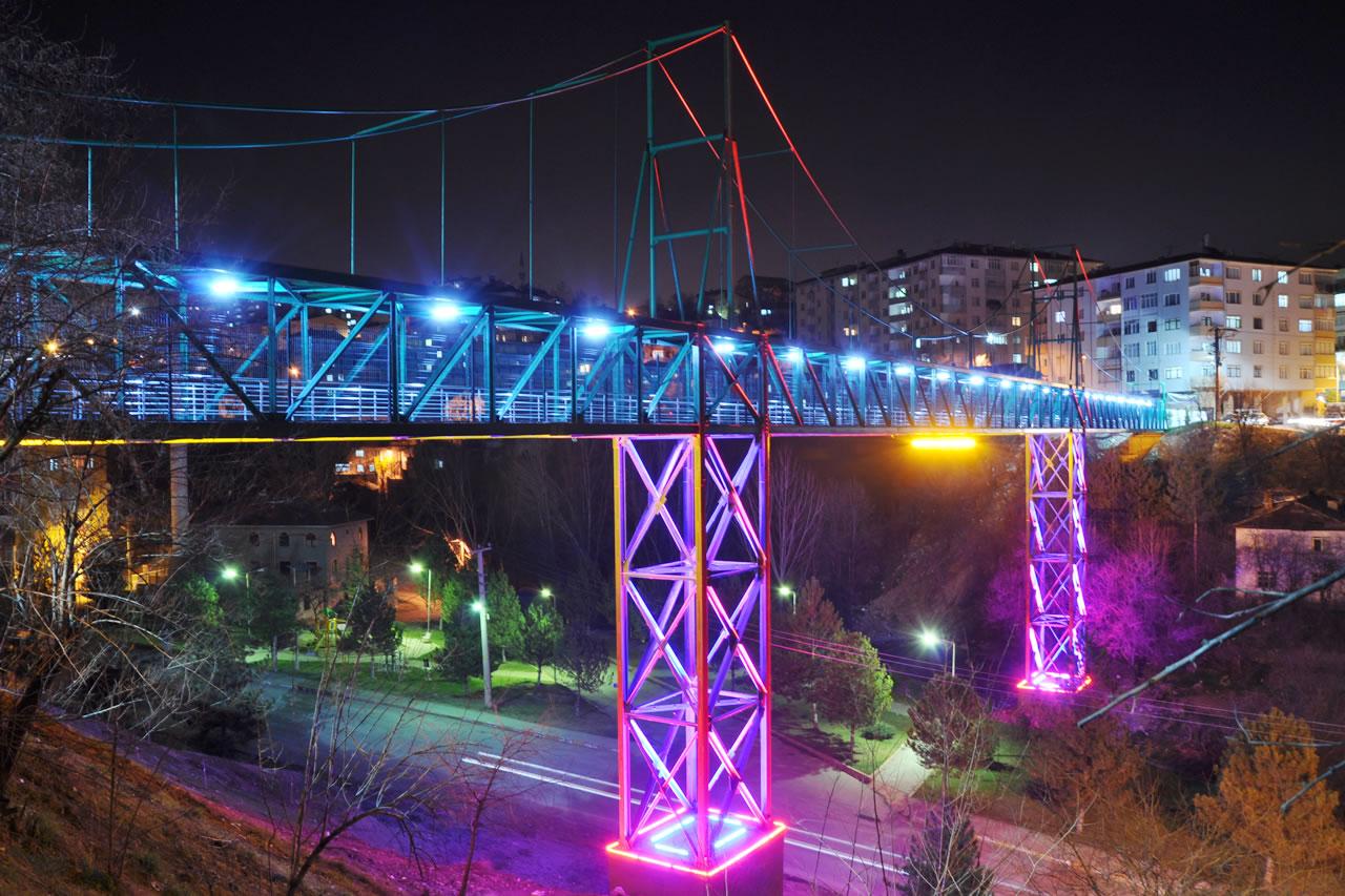 Şirinevler Mh. - Yeşil Mh. Arası Yaya Üst Geçit Köprü Projesi