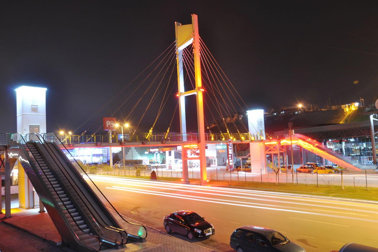 Otobüs Terminali Yaya Üst Geçit Köprüsü ve Şehit Fatihler Parkı Projesi