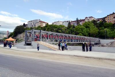 Kayabaşı Mh. - Hürriyet Mh. Arası Yaya Üst Geçit Köprü Projesi