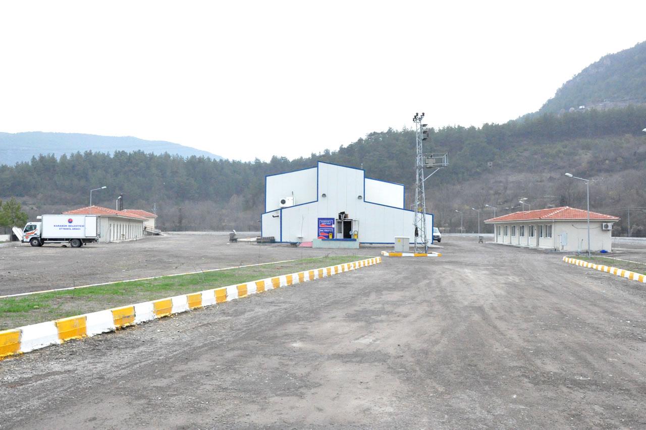 Modern Mezbahane ve Hayvan Pazarı Projesi