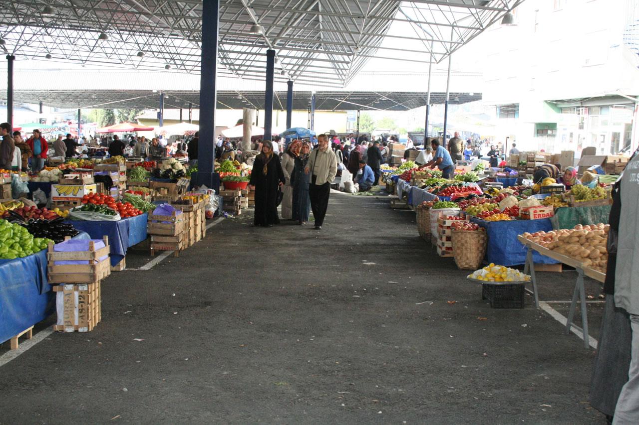 Cuma Pazarı Pazar Yeri Kapalı Alanlarının Kapatılması Projesi
