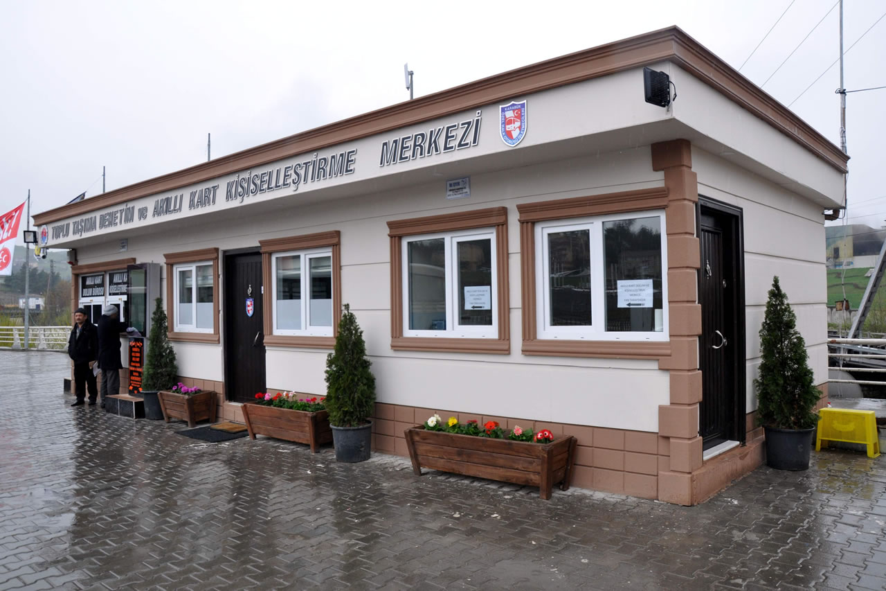 Özel Halk Otobüsü İzleme Merkezi ve Akıllı Kart Dolum Merkezi