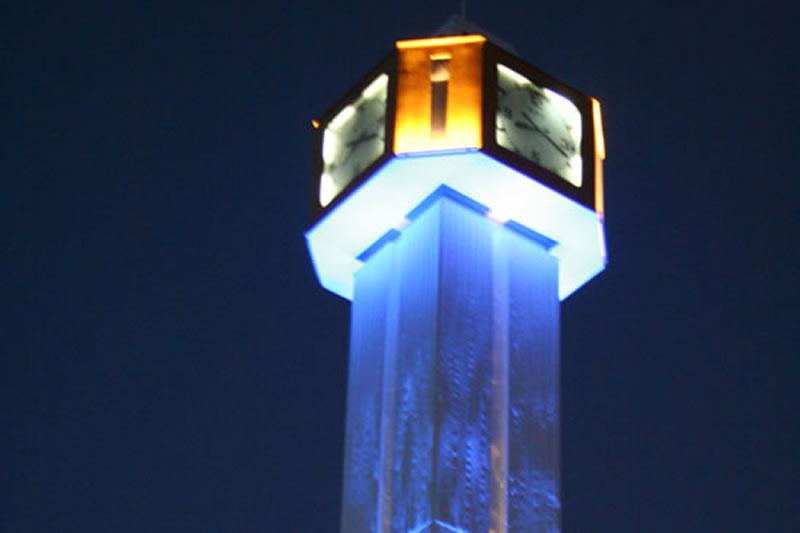 Saat Kulesi Aydınlatılması ve Çevre Düzenlemesi