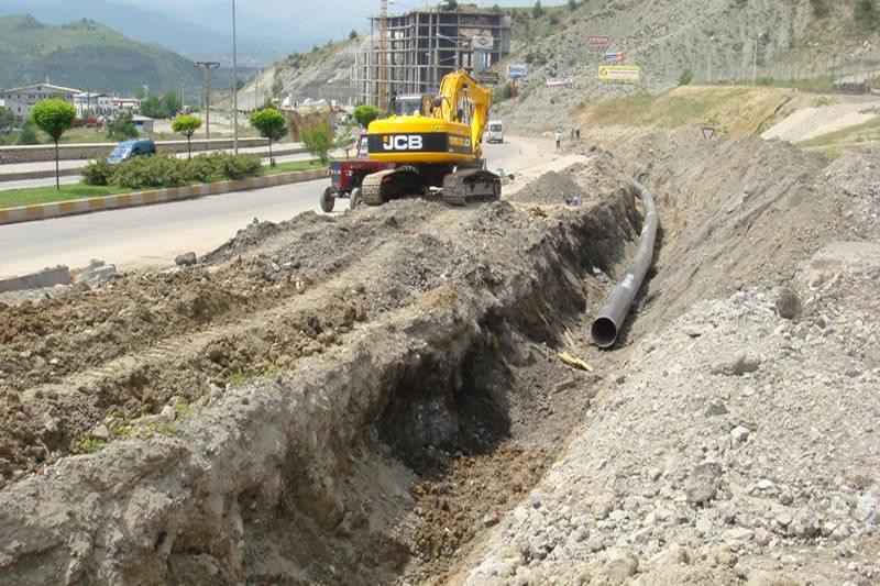 Su ve Kanalizasyon Hatlarının Yenilenmesi