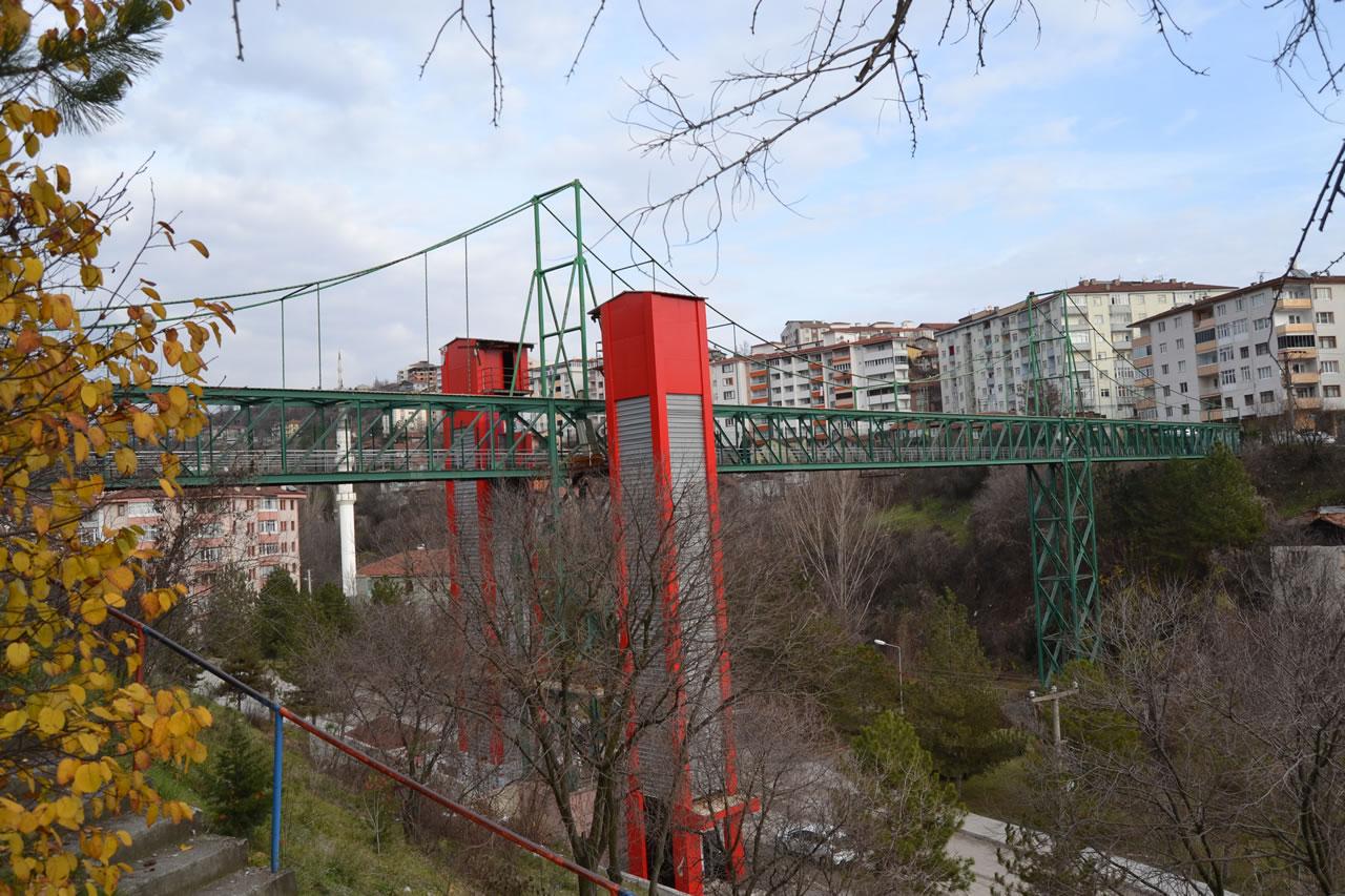 Şirinevler Mh. - Yeşil Mh. Arası Yaya Köprüsü Asansörü
