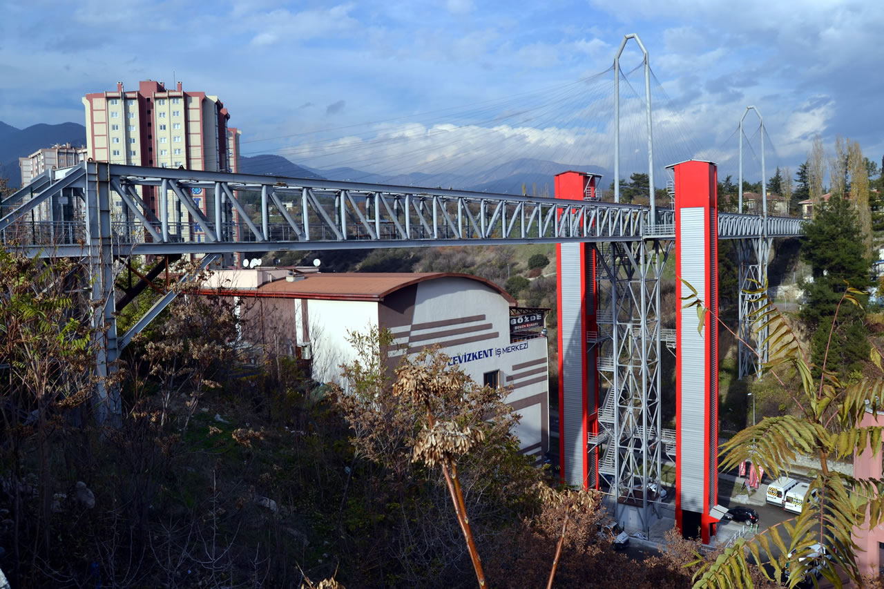 Kartaltepe Mh. - Yenişehir Mh. Arası Yaya Üst Geçit Köprü Projesi