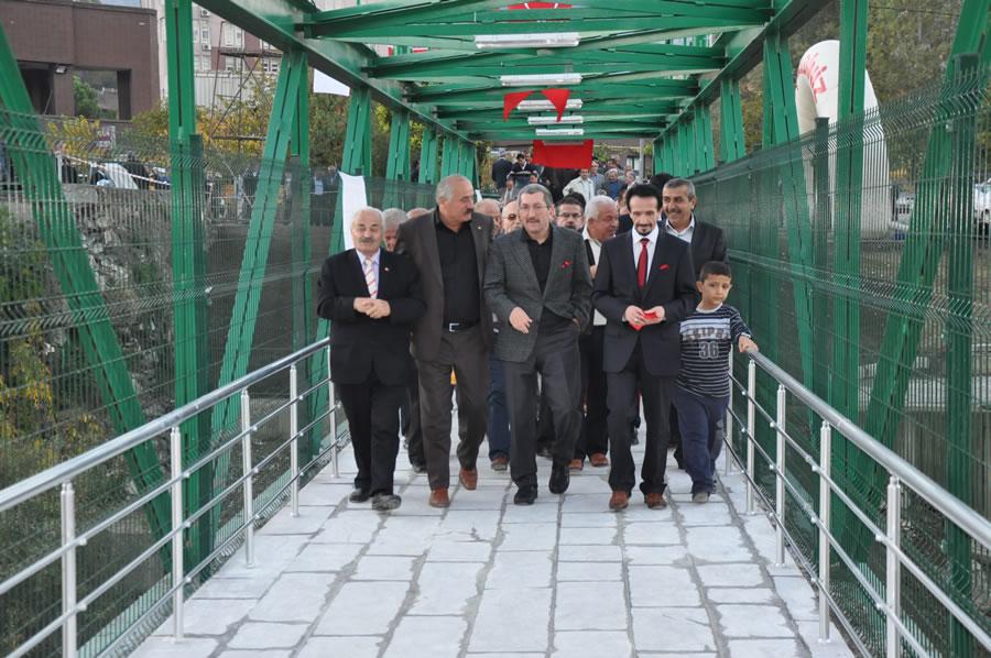 Öğlebeli-Eregenekon Mahallesi (Şehirlerarası Terminal) Arası Yaya Köprüsü (21 Ekim 2013'te Hizmete Açıldı)