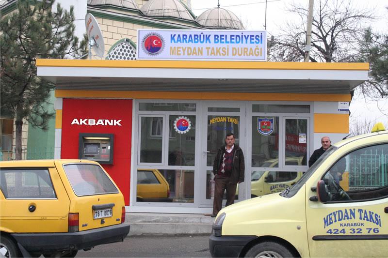 Taksi Durakları Yenileme Çalışmaları
