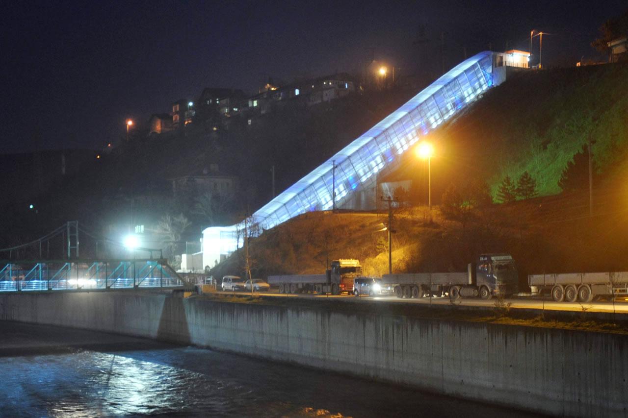 Yatay Asansör (Öğlebeli Mahallesi) (25 Haziran 2013'te Hizmete Açıldı)