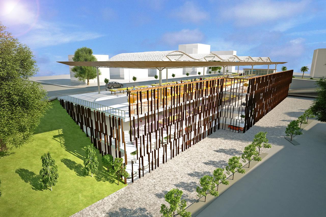 Şirinevler Mahallesi Katlı Otopark ve Pazaryeri Projesi