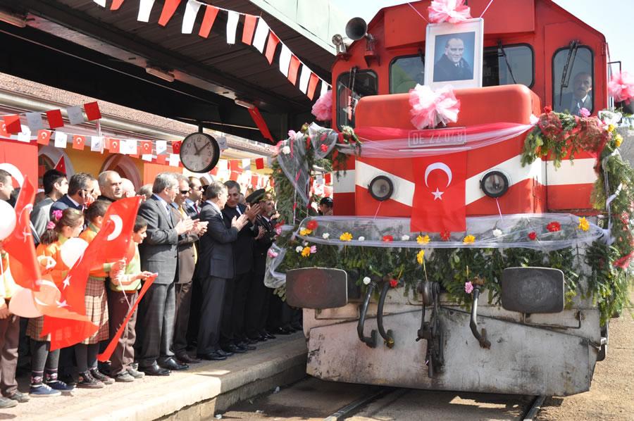3 Nisan Demir Çelik Fabrikalarının Temellerinin Atılması ve Karabük'ün Kuruluşunun 75. Yıldönümü (2012)