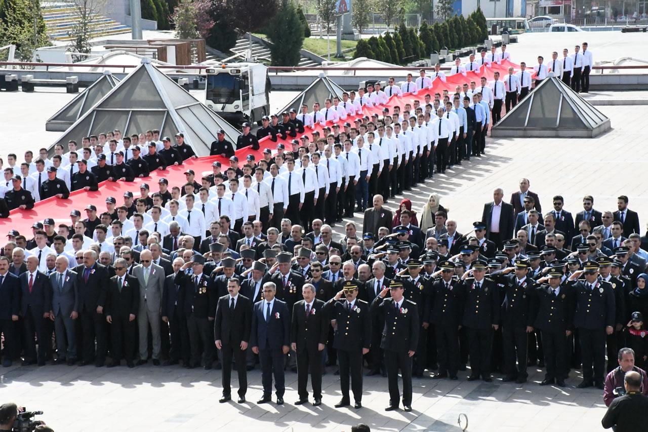 Türk Polis Teşkilatının 174. Kuruluş Yıl Dönümü Kutlandı