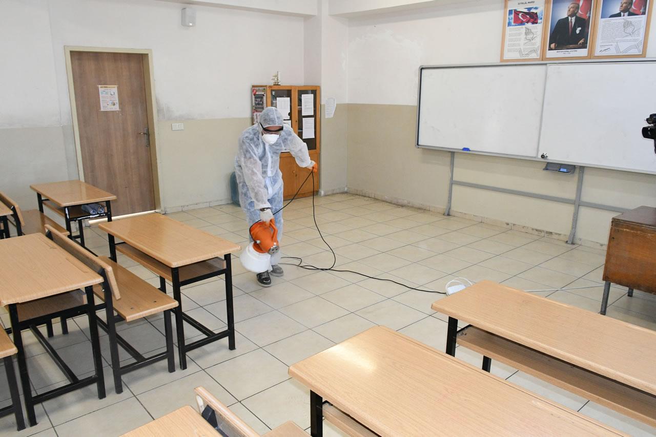 Okullarda Korona Virüs Önlemi