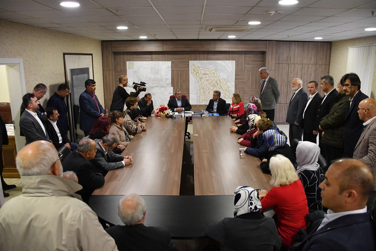 MHP Karabük Merkez İlçe Teşkilatından Başkan Vergili'ye Hayırlı Olsun Ziyareti