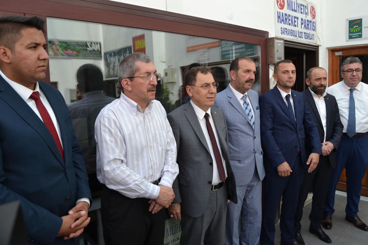 Başkan Vergili MHP Safranbolu İlçe Teşkilatının Bayramlaşma Törenine Katıldı