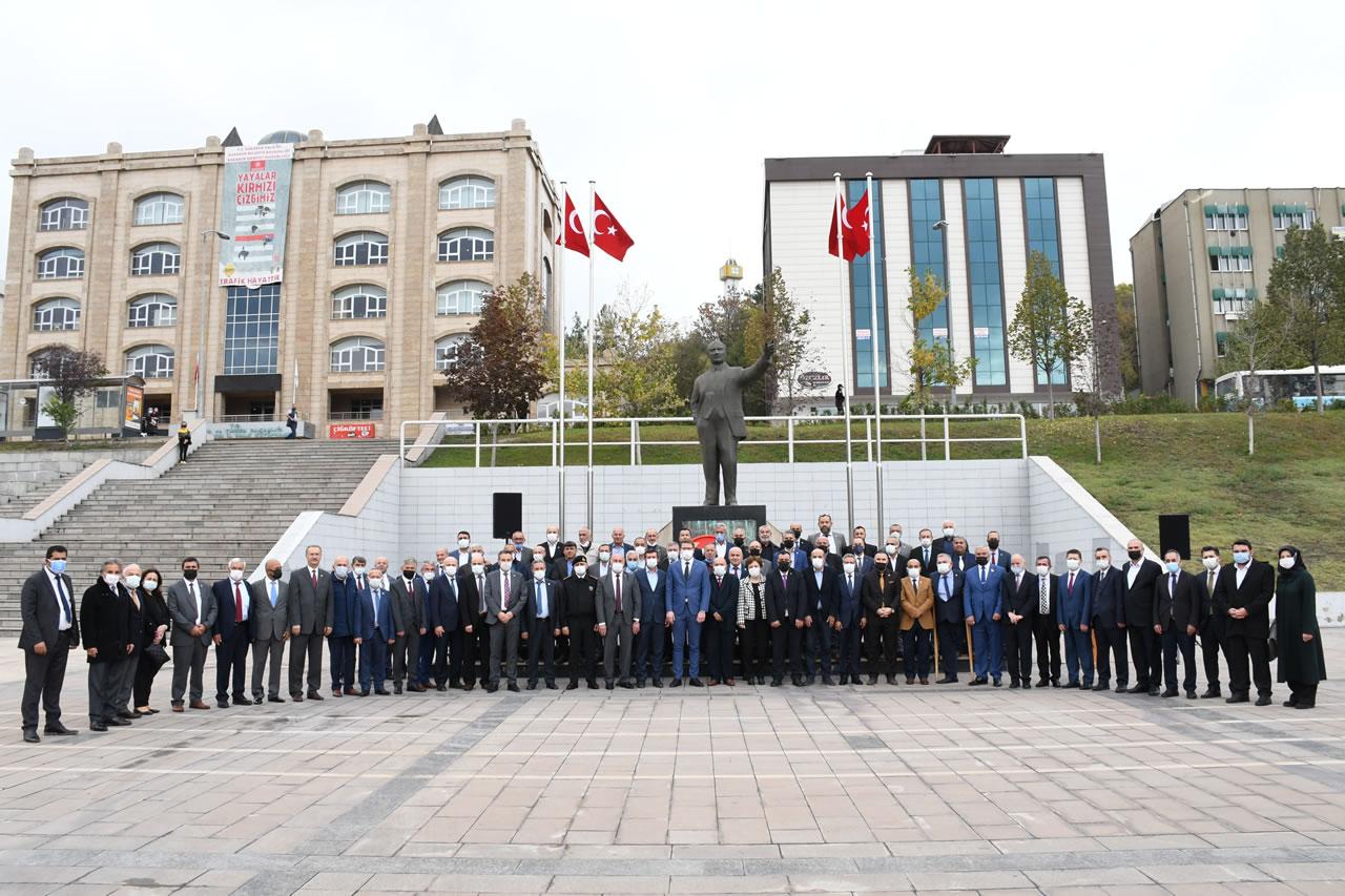 Karabük'te 19 Ekim Muhtarlar Günü Kutlandı