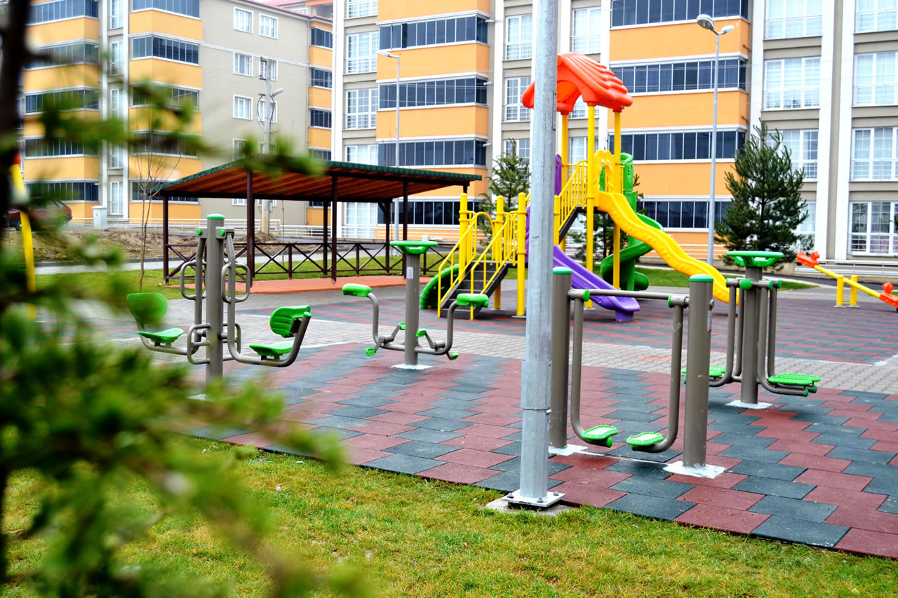 Karabük Mahallesi Parkı Açılışa Hazır