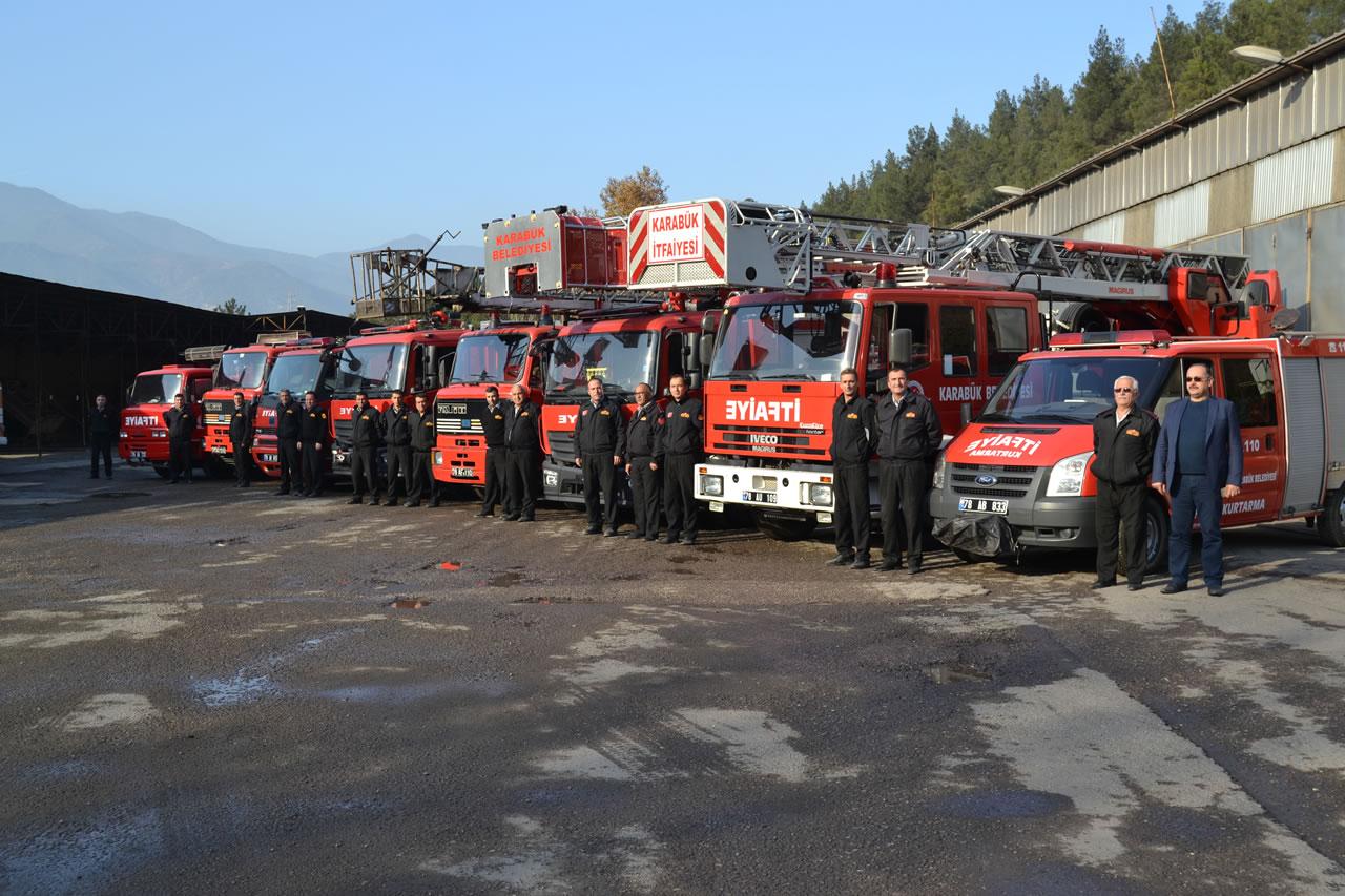 Karabük Belediyesi İtfaiyesi´ne İki Yeni Araç Daha Eklendi