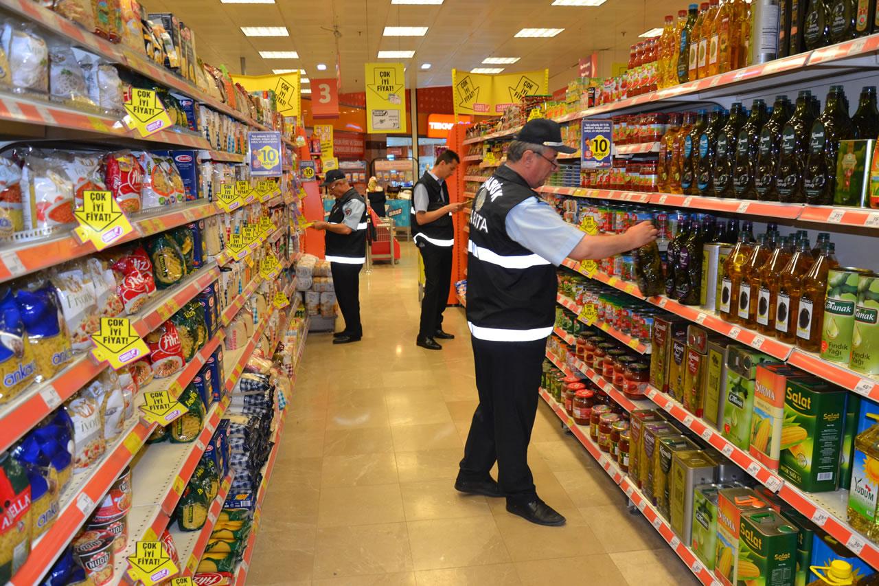 Zabıta Müdürlüğü Gıda Denetimlerini Sürdürüyor